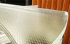 vidrio pisable